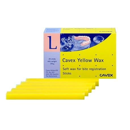 Cavex Yellow vosk, 20 tyčiniek
