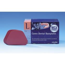 Cavex Baseplates mica-free - horné 100 ks